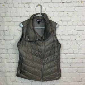 Patagonia packable down puffer vest